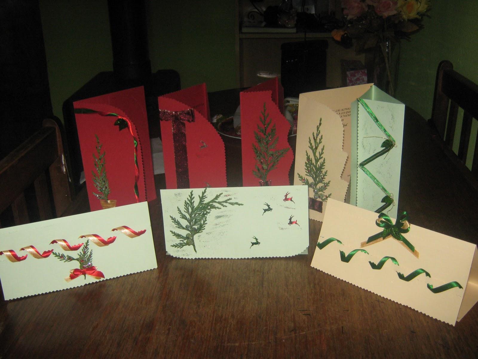 tarjetas artesanales para cualquier ocación