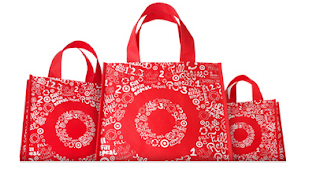 Target free reusable tote earth day