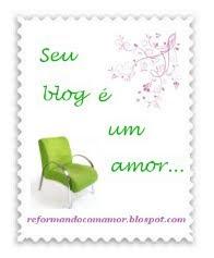 Selinho Blog Reformando com Amor