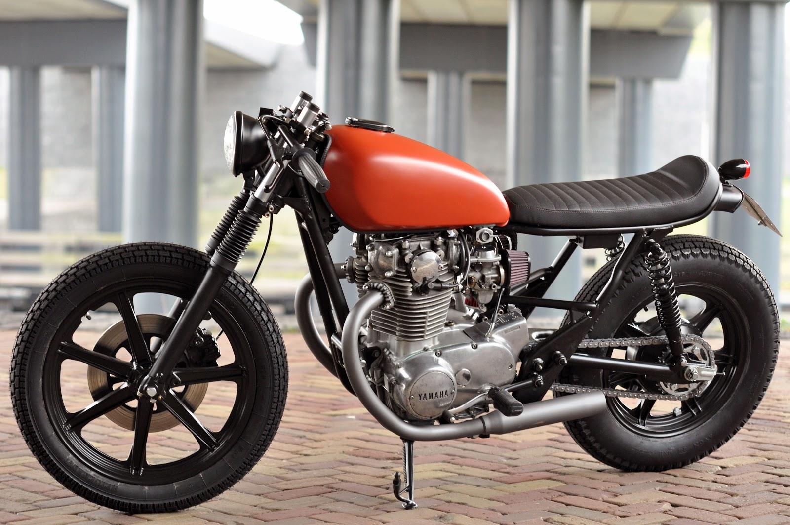 Yamaha Cafe Racer : Left hand cycles custom yamaha xs return of the cafe