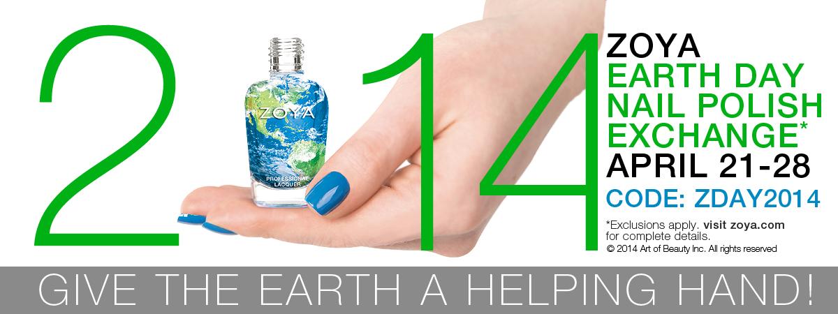 Zoya Earth Day Nail Polish Exchange 74