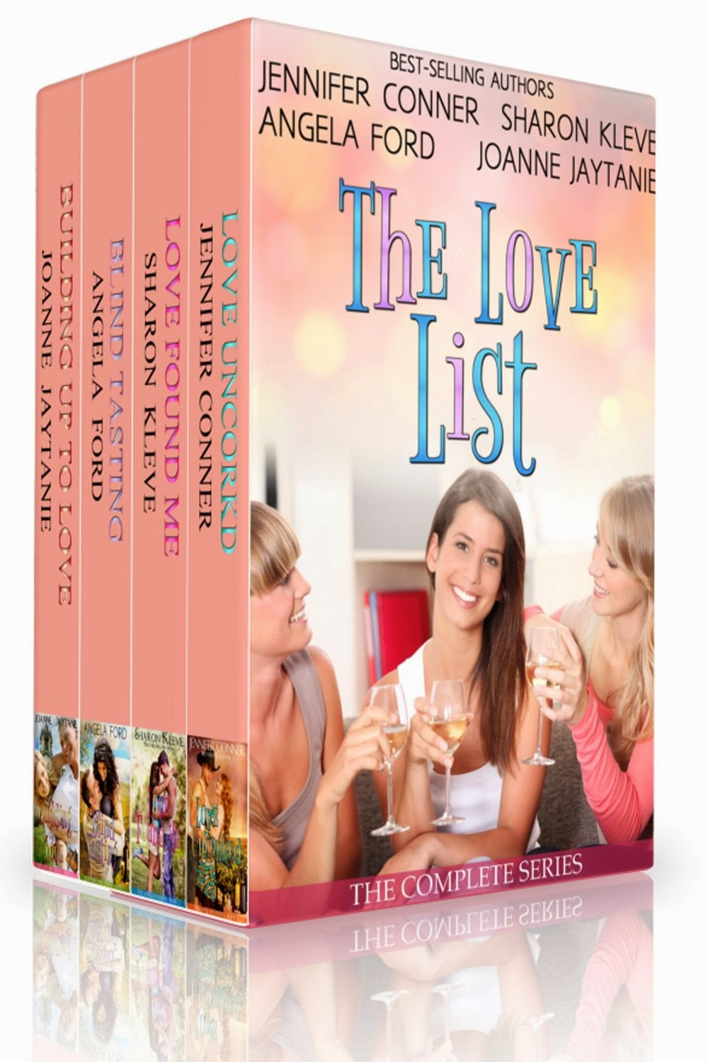 http://www.amazon.com/Love-List-Collection-Uncorked-Building-ebook/dp/B00OD4YPZU/ref=sr_1_7?s=books&ie=UTF8&qid=1421614182&sr=1-7&keywords=sharon+kleve