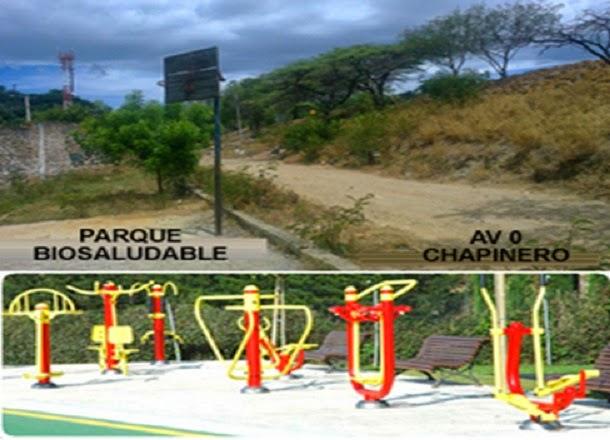 Solicitud de Parque Biosaludable a Alcaldia de Cucuta para Ecoparque Divino Niño en sector San FelipeEl Palustre de Chapinero en la ciudad de Cúcuta