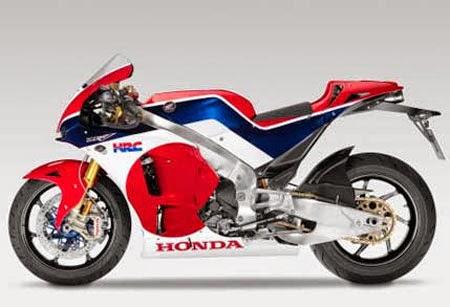 desain Honda RCV213 terbaru