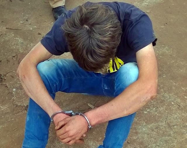 Roncador: Polícia Militar prende ladrão de residência em flagrante