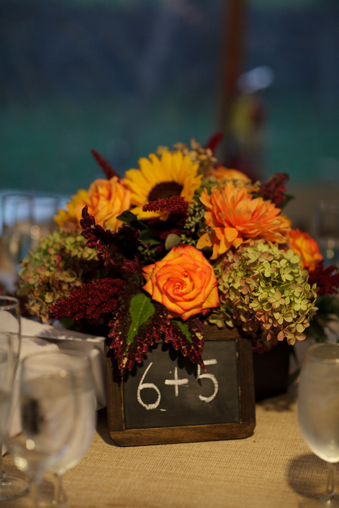 Fall Outdoor Wedding Rustic Elegance DIY Details