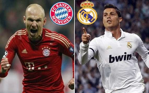 Prediksi Skor Real Madrid vs Bayern Munchen 24 April 2014, UCL
