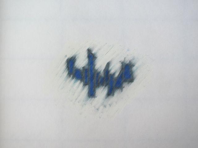 tek div vormen blauw plattegrond