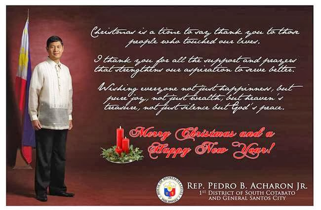 christmas message pedro acharon