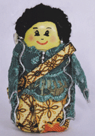 Boneka Jawa Dari Botol Bekas