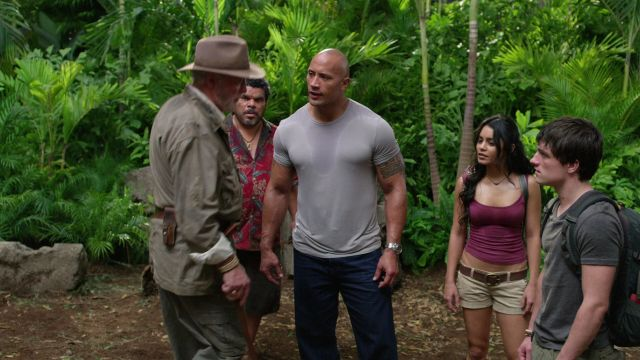 Screen Shot Of Hollywood Movie Journey 2 The Mysterious Island (2012) In English Full Movie Free Download And Watch Online at worldfree4u.com