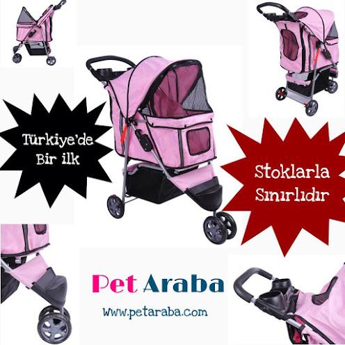 Türkiye'de bir ilk Evcil Köpek & Kedi taşıma arabası
