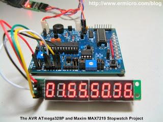 Cronometro com AVR