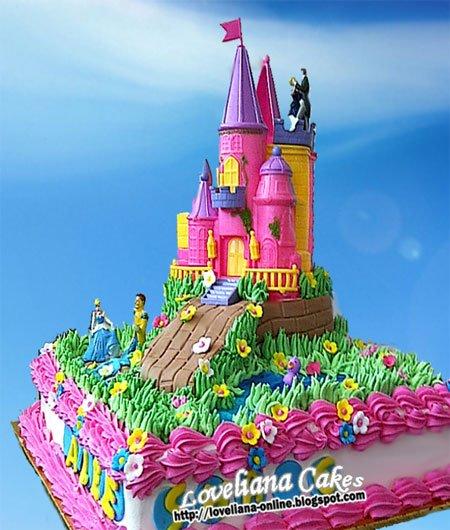 Barbie Castle Cake Images : www.loveliana-online.blogspot.com: Barbie doll cake and ...