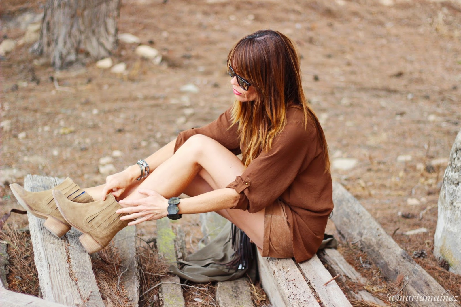 Streetstyle - Tabatha shoes - botines de verano - Gabardina de verano