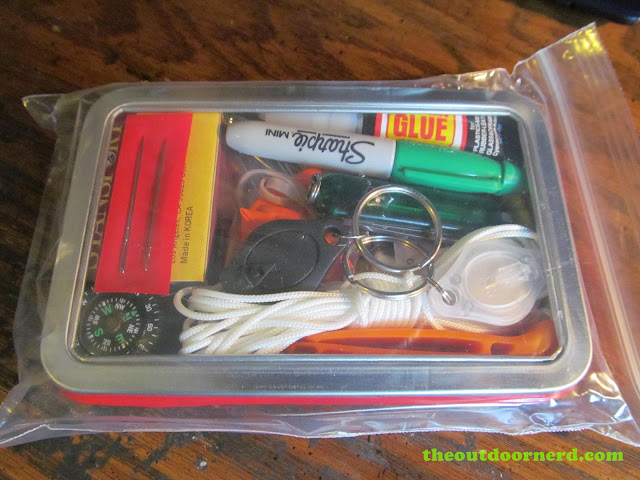 Glovebox Survival Kit