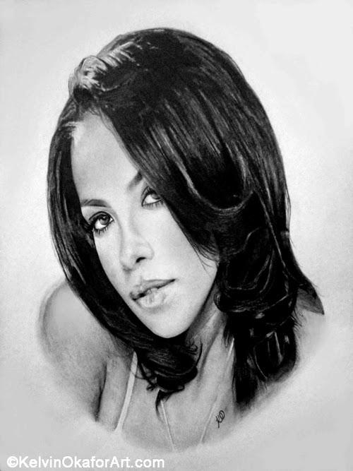 04-Aaliyah-Haughton-Kelvin-Okafor-Celebrity-Portrait-Drawings-Full-of-Emotions-www-designstack-co