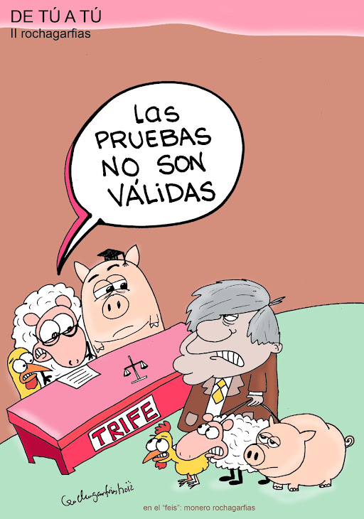 PRUEBAS ANTE EL TRIFE.