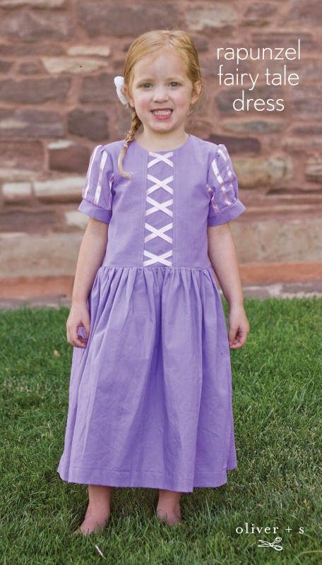 Rapunzel Fairy Tale Dress Tutorial