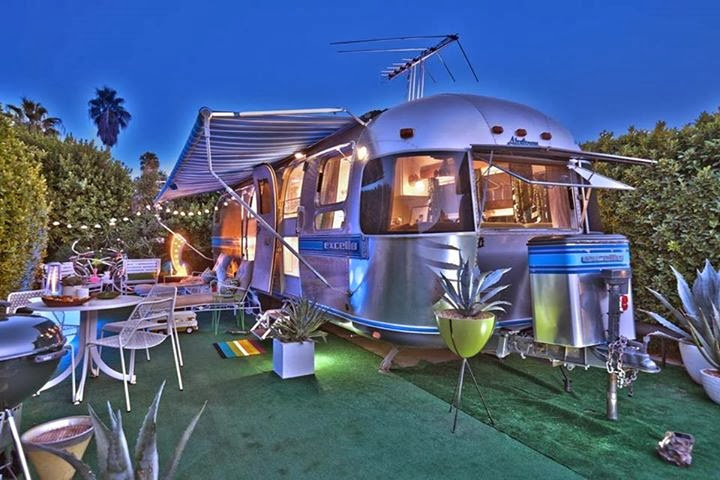 The Silver Suitcase Airstream