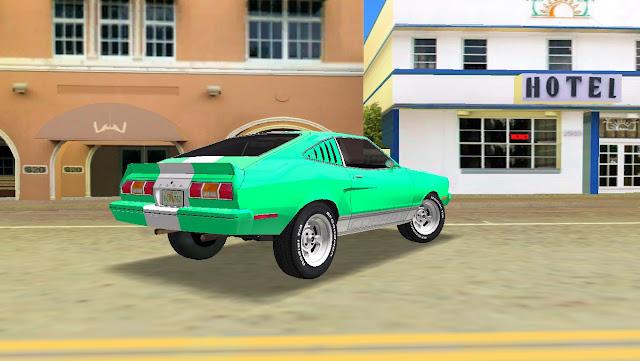 Ford Mustang Cobra 1976 GTA Vice City