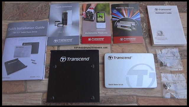 Transcend SSD contents