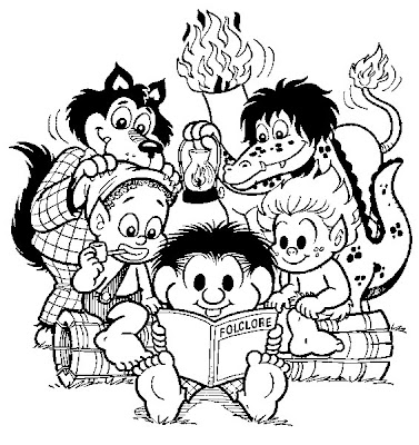 Desenhos de Folclore