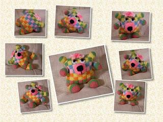 crochet flowerumi jacquard toy pattern