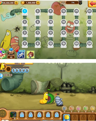 download Game Larva Heroes 2 APK+DATA Mod