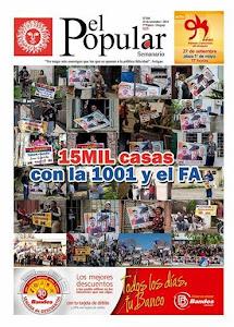 El Popular Nº 286 26/09/2014.
