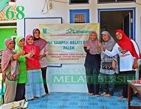 Bank Sampah Melati Bersih Palem Ragajaya Bojong Gede Kabupaten Bogor