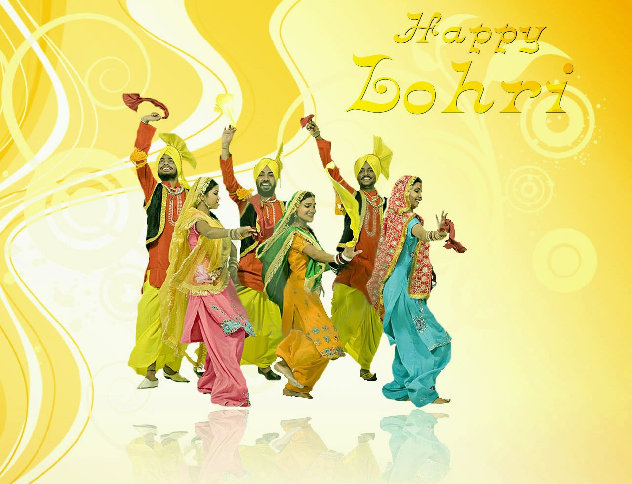 "Holiday ""Lohri"" 2018 Happy Lohri Images, Wallpapers, Celebration"
