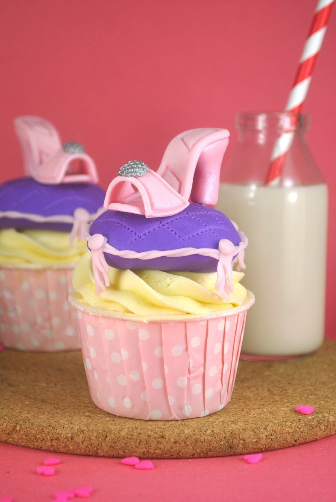 how to make shoe cupcakes
