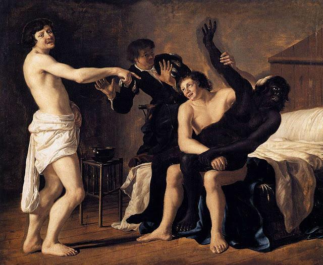 Белые безволосые рабы