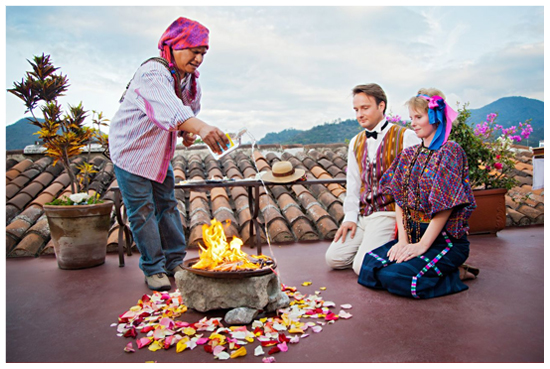Boda en Guatemala