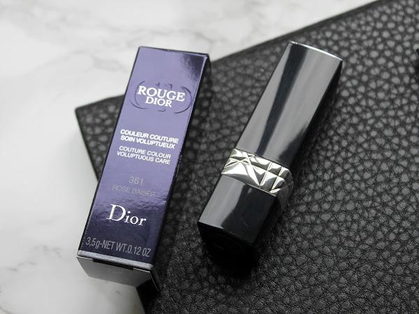 Rouge Dior Lipstick 361 Rose Baiser.