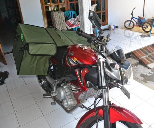 Jual Tas Motor Untuk Angkutan Barang Pak Pos