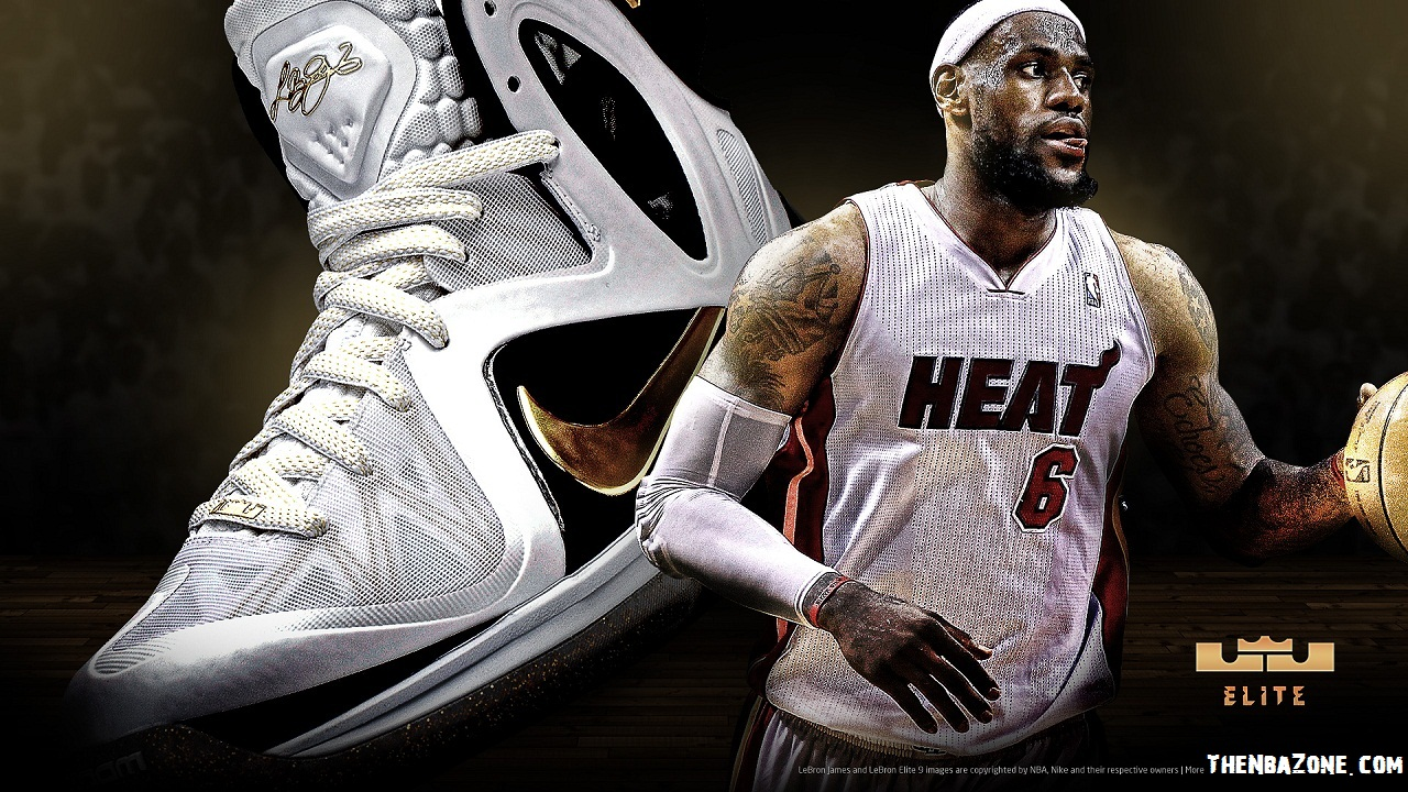 Lebron James Miami Heat NBA Playoffs 2012 Elite HD Wallpaper