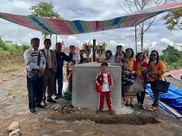 """Peletakan Batu Pertama Pembangunan """"Monumen Makam Hinalang"""" (St RK Purba)"""