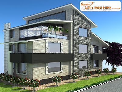 View Plan : http://www.apnaghar.co.in/house-design-135.aspx