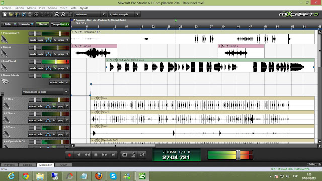 Mixcraft Pro Studio 6.1 Full Final Espanol Grabacion Multipista