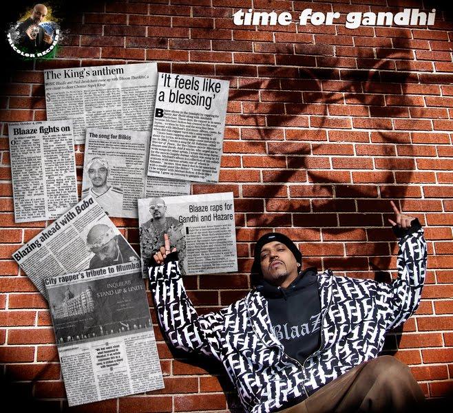 Time For Gandhi - Blaaze Pop Song Download