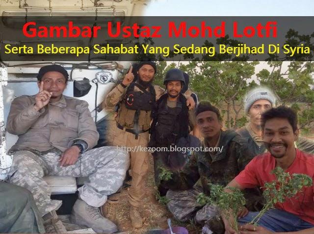 [9 Gambar] Mohd Lotfi & Sahabat Berjihad di Syria