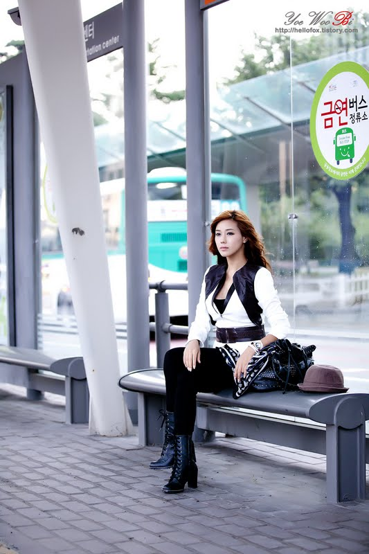 Kim Ha Yul - Outdoor Photoshoot