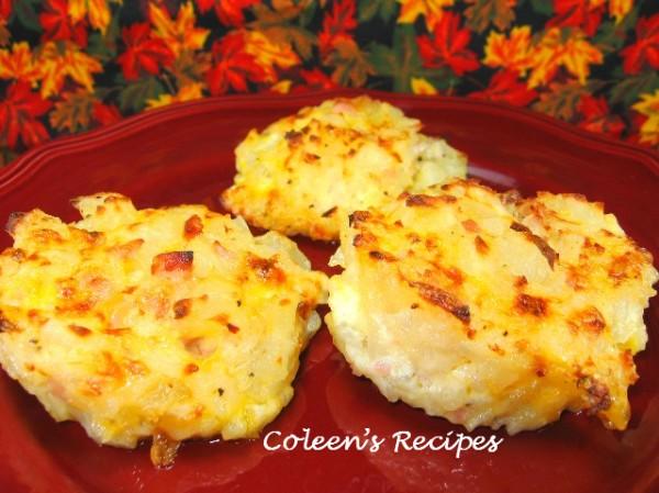 Coleen's Recipes: INDIVIDUAL POTATOES AU GRATIN
