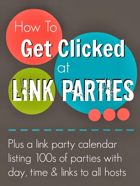 how to get clicked at link parties