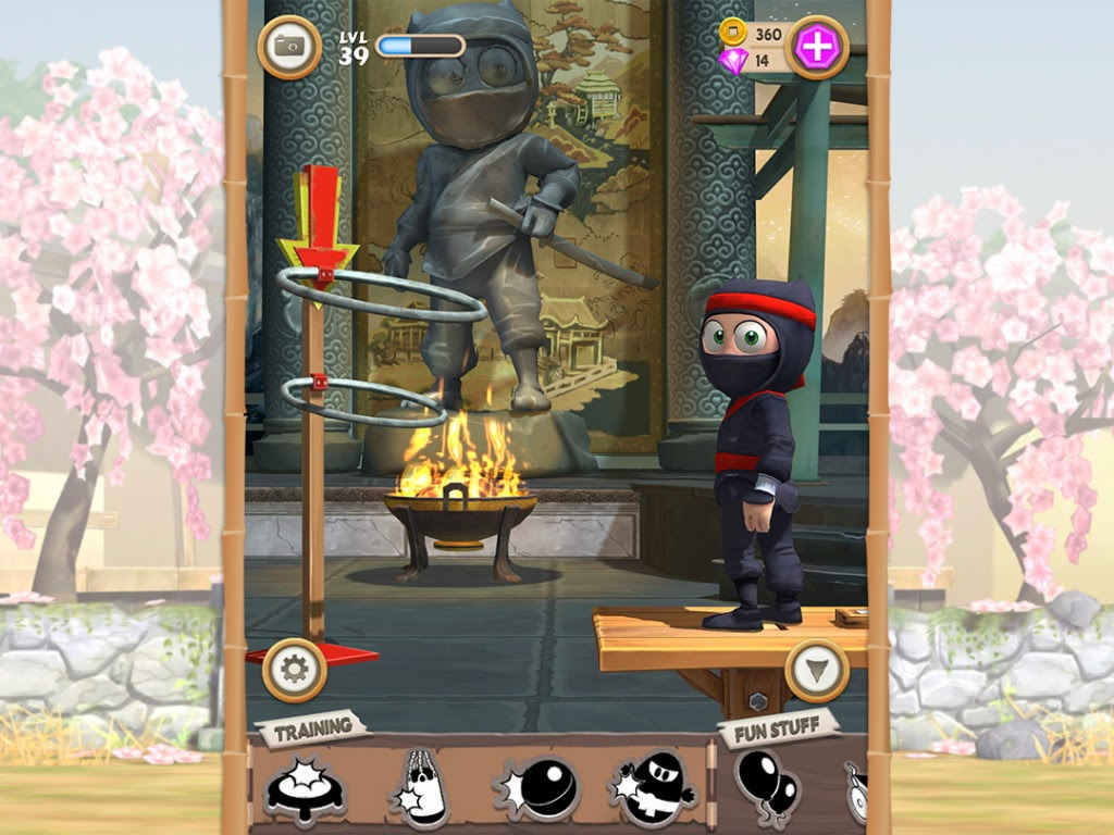 Clumsy Ninja Full Apk resimi 10