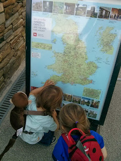 checking the map