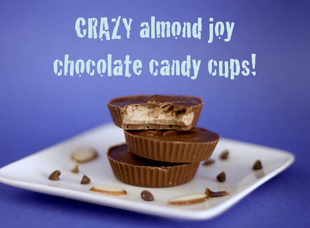 Healthy Almond Joy Chocolate Candy Cups - Desserts with Benefits