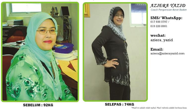 Pengedar Herbalife Malaysia - Aziera Yazid